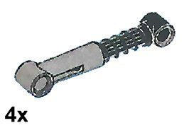 LEGO Technic Coiled Suspension Struts (Soft) Pack