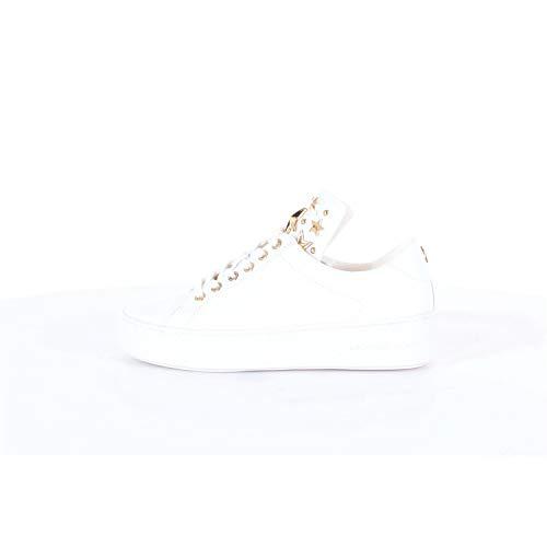 MICHAEL MICHAEL KORS MINDY Sneakers dames Wit/Goud Lage sneakers
