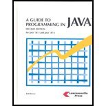 Guide To Programming In JAVA (2nd, 07) by Brown, Beth [Hardcover (2007)]