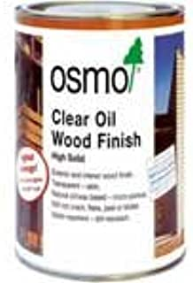 OSMO Clear Oil Wood Finish for vertical surfaces or decking - .75 Liters