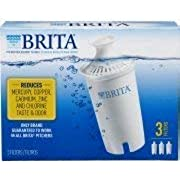 Brita Replacement Filters, 3 Count (Advanced) White (2-Pack)