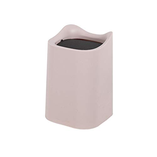 N\A swh5 - Cubo de basura retráctil oculto para debajo de la mesa, para colgar basura