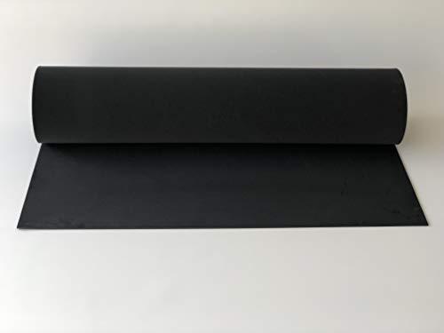 Schaumstoff, Polyethylen,PE-Schaum, XXL-Platte 2000 x 1000 x 4 mm anthrazit,