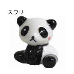 【プライムナカムラ】紅ほっぺパンダ 箸置き スワリ