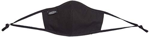 KEEN Unisex Together Cotton Face Mask Reusable, Black, XS/S, 2 Pack