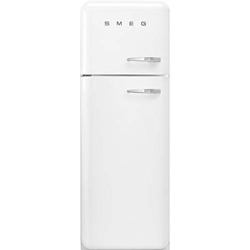 Smeg FAB30LWH3 nevera y congelador Independiente Blanco 294 L A+++ - Frigorífico (294 L, SN-T, 4 kg/24h, A+++, Compartimiento de zona fresca, Blanco)