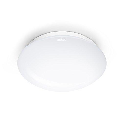 Plafonnier 12 W 16 W Détecteur mvt dämmerungs-Capteur Plafonnier-Lampe Blanc Plat