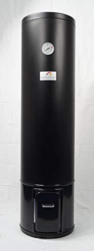 Calentador de agua caliente para baño (80 litros, resistente a la presión, 7 bar, madera)