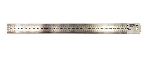 GRAPHOPLEX GXR41459 - Regla de acero (30 cm)