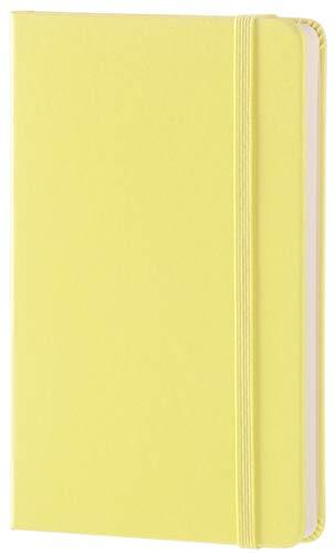 Moleskine taccuino colorato A righe Tascabile giallo limone