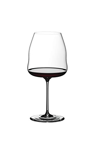 Riedel Winewings Pinot Noir Wine Glass, Single Stem, Clear