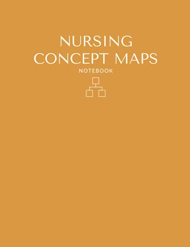 Nursing Concept Maps Blank Template Notebook & Note Guide: The Perfect Blank Notebook & Note Guide f