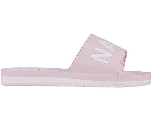 NAPAPIJRI FOOTWEARAriel - Sandalias con Punta Abierta Mujer, Color Rosa, Talla 41