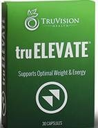 TruVision Health ~ TruElevate ~ 30 Capsules ~ Supports Optimal Weight & Energy by TRUVISION HEALTH