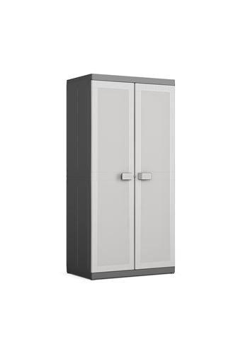 🔥 El armario de PVC para jardín más vendido: Keter Logico Escobero XL