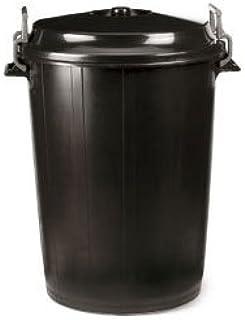 PLASTICOS HELGUEFER - Basurero 100 litros con Tapa Negro