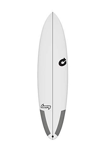 TORQ M2-S epoxy Tec Tabla de Surf - Blanco, 6.8 FT