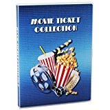 UniKeep Movie Ticket Collection Case with Acid-Free Pages and Integrated Binder Rings
