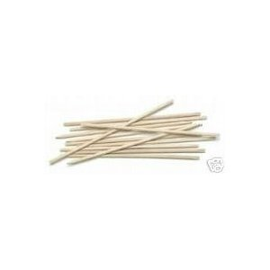Orange Wood Stick Cuticle Pusher Manicure Lot of 100 by LTD