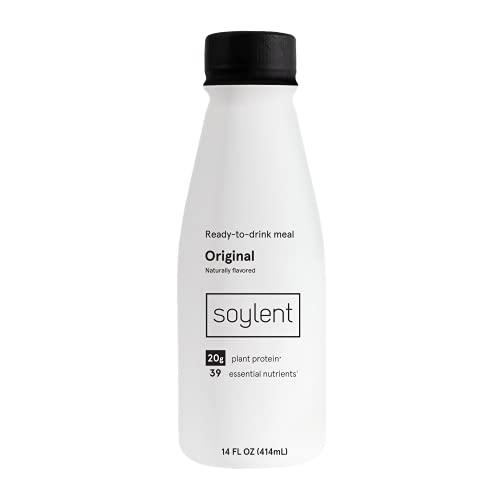 12Pk Soylent Gluten-Free Vegan Protein Meal Shake,14Oz Now $27.34 (Retail $42.00)