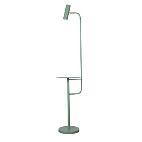 Lampes de chevet Lampadaire Moderne Minimaliste Salon Canapé Vertical Lampadaire Creative Nordic Touch Télécommande LED Lit Table Basse Lampadaire (Color : Green, Size : 30 * 142cm)
