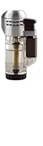 Lifestyle-Ambiente Set Xikar Tech Feuerzeug Jetflamme kristall + Tycoon Premium Spezialgas für Jetflamme