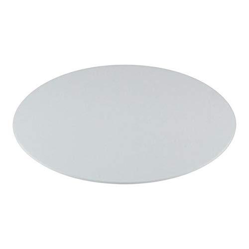 Miss Bakery's House® Cake Board - Acryl - Ø 20 cm - Tortenunterlage - rund, weiß