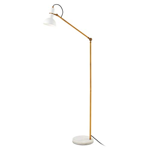 FAFZ Sofa-lamp, creatief, bescherming van de ogen van de lamp van Lettura, retro perzik, pianoforte theelamp, tafellamp, geschikt voor woonkamer, slaapkamer, goudkleurig