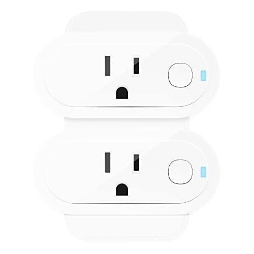Sengled Smart Plugs, ZigBee Smart Outlet Works with Alexa, Google Home, SmartThings, Homekit, Amazon Smart Plug, Voice Control, Remote Control, Hub Required, 15Amp Smart Socket, ETL Listed, 2 Pack
