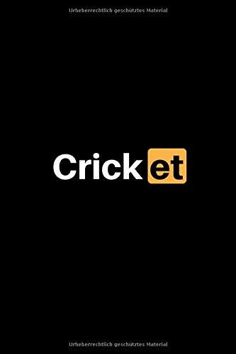 Cricket: Notizbuch - 150 linierte Seiten (6x9 Zoll / Softcover) - Sport: Spielvorbereitung & Analyse - Trainingstagebuch / Schreibblock & perfektes Geschenk - günstig
