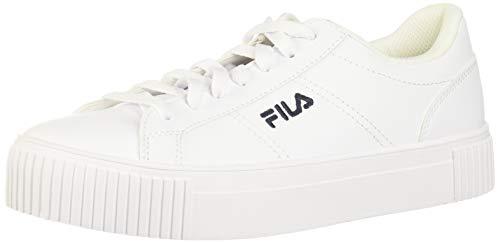 FILA Damen Panache Sneaker, (Weiß/Marineblau/Rot), 44.5 EU