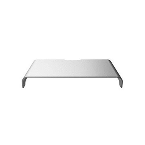 WWWANG Computer Monitor Stand Aluminium beugel IMAC metalen frame Desktop Toetsenbord ontvangen Notebook Base (Color : White)