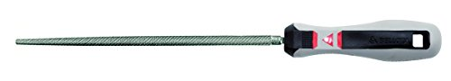 Bellota 40046BMB lima mecanico redonda mango bimaterial 6 basta, Standard, 150 mm