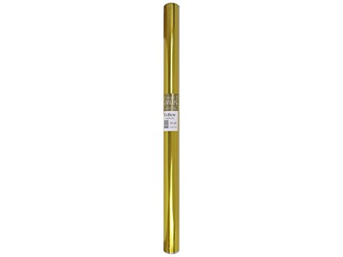 Cello Wrap Roll Solid 30' x100' Yellow