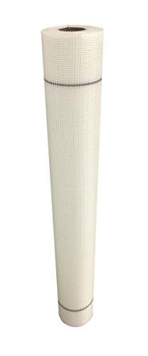 Rete portaintonaco leggera bianca, rete in fibra di vetro per rasature Rotolo da 50 metri