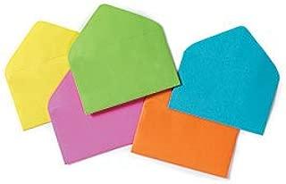 Enclosure Card #63 Everyday Asst Colors Envelopes 2 1/2