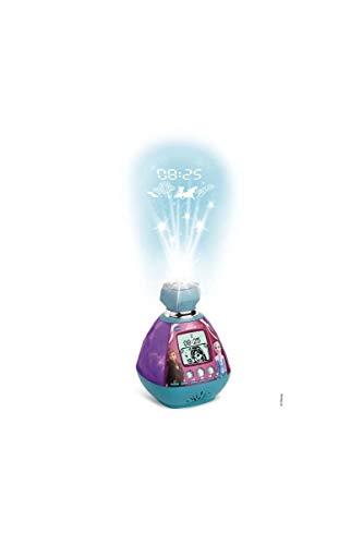 VTech - Reine Des Neiges 2 - Kidimagic Color Show - Radio réveil enfant avec projection de l'heure au plafond - Version FR