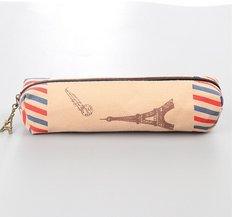 Chakil federmäppchen Vielseitig einsetzbares mäppchen school supplies Leinwan-Federmäppchen Pencil Case Bleistift Hülle,SüßesEtui,18.5cm*4cm,Leinwan,Turm