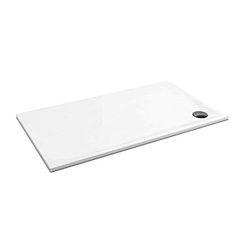 Duschwanne AQUABAD® Comfort Edge Superflat, Höhe: 3 cm, 90 x 120 cm