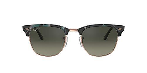 Ray-Ban 0RB3016 Gafas de sol, Spotted Grey/Green, 49 para Hombre