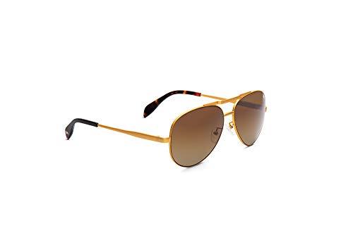William Painter - The Hughes Titanium Polarized 'Aviator' Sunglasses (Gold). Ultimate In Comfort & Durability.