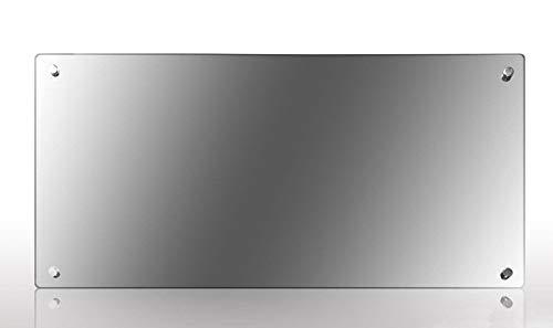 Spiegel-Infrarotheizung 100 Watt Infrarot Glasheizung, Wand - Decken Heizung HDW