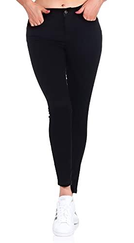 VERO MODA Vmseven Nw S Shape Up Jeans Vi506 Noos, Jean slim Slim Femme, Noir (Black), L/L30