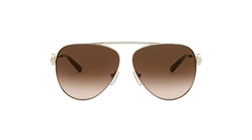 Michael Kors Damen 0MK1066B Sonnenbrille, Gold, 59