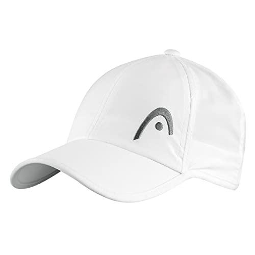 HEAD PRO Player cap, Berretto Unisex Adulto, White, One Size