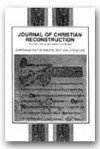 Journal of Christian Reconstruction Volume 12, #2 1989 (Symposium ON the Biblical text and Literature, Symposium ON the Biblical text and Literature)
