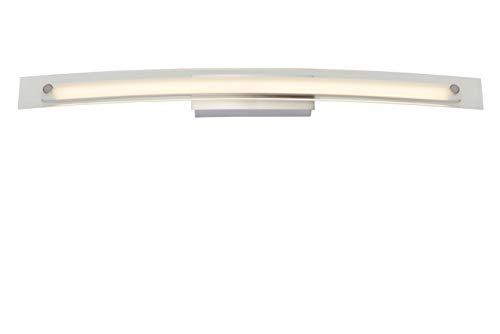Lucide BOAZ - Wandleuchte Badezimmer - LED - 1x12W 3000K - IP21 - Chrom Matt