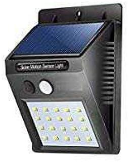 Bigsavings 20 Led Solar Motion Sensor Light, Outdoor Weatherproof for Driveway Garden Path Yard