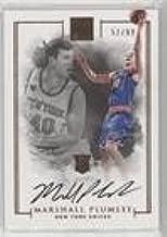 Marshall Plumlee #51/99 (Basketball Card) 2016-17 Panini Impeccable - [Base] #124