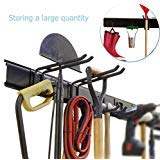 Ultrawall Garage Wall Organizer,9PC Garage Tool Hooks,Garden Tool Storage Rack